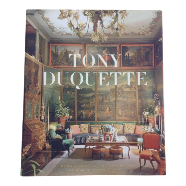 'Tony Duquette' Hardcover Coffee Table Book - Image 1 of 11