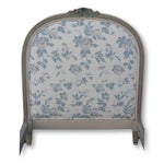 Image of Antique Gustavian Upholstered Twin Beds - A Pair