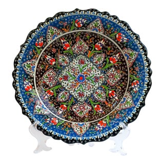 Multicolour Hand Painted Plate