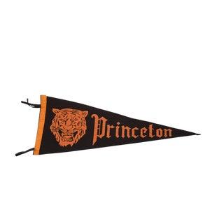 1940 Vintage Princeton Tigers Felt Flag