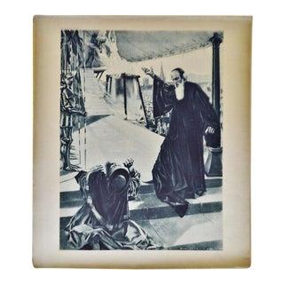 1899 Photogravure of William De Leftwich Dodge's La Juive