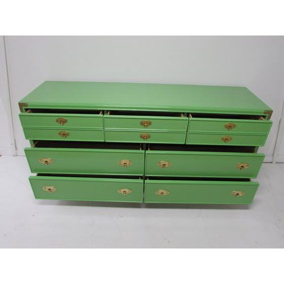 Lexington Campaign Chest of Drawers - Image 3 of 8