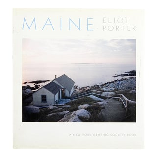 "1986 ""Maine"" Eliot Porter Book"