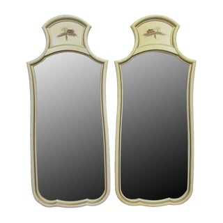French Country Mirrors - A Pair