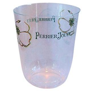 Perrier Jouët Champagne Acrylic Ice Bucket