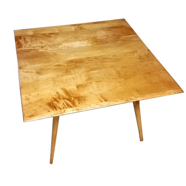 Image of Paul McCobb Planner Group Square Maple Table