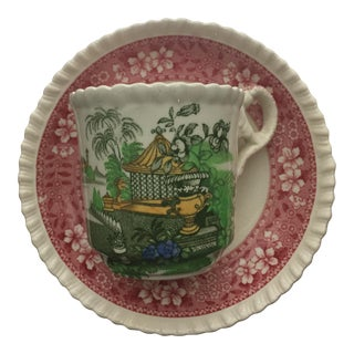 Spode Demitasse Cup and Saucer