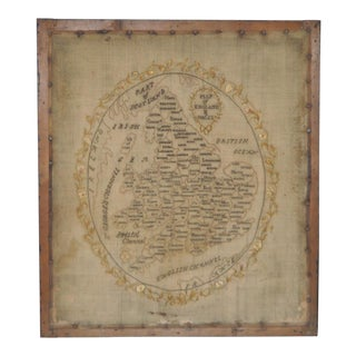 Early 19th Century Map of England and Wales Sampler
