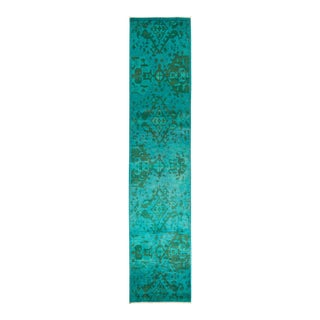 """Vibrance Hand Knotted Runner Rug - 2' 7"""" X 11' 2"""""""