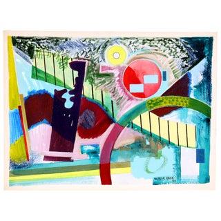"Vlasek Hails ""Circular Harmony"" Painting"