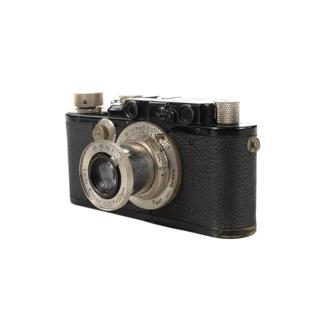 1930s Leica III Black Camera With 5cm Elmar Lens - Image 6 of 10