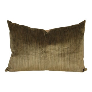 Green Velvet Boslter Pillow