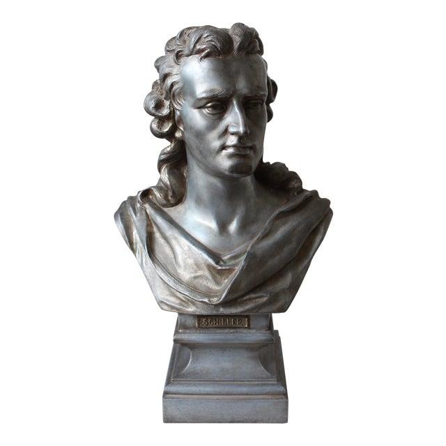 Spelter Bust of Schiller - Image 1 of 10