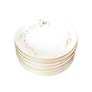 Mid-Century Porcelain Bread Plates - Set of 7
