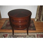 Image of Ethan Allen Osborne Side Table