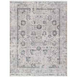 "Pasargad Transitiona Silk & Wool Rug - 8'10"" X 12'"