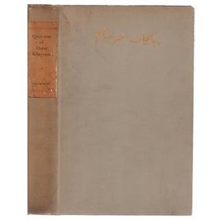 The Quatrains Of Omar Khayyam of Nishapur Hardcover Book
