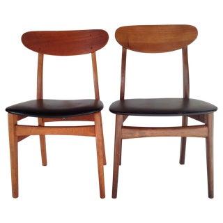 Danish Modern Chairs - Pair
