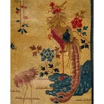 Image of Art Deco Chinese Handknotted Wool Oriental Textile