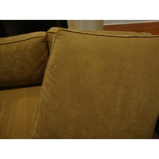 Curved Sofa Atlanta: Vintage Mid-Century Style Curved Sofa