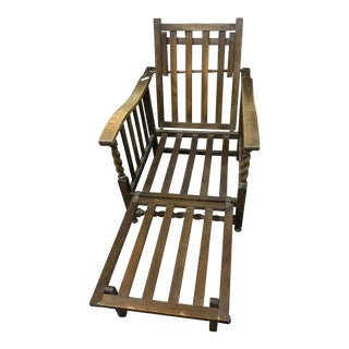 Barley Twist Wood Chair and Lounger