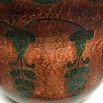 Image of Oxidized Copper Planter