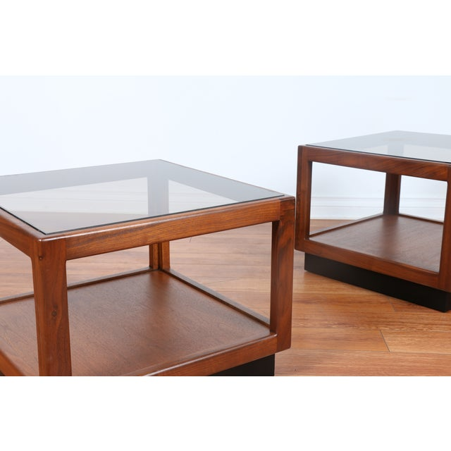 Brown & Saltman Side Tables- A Pair - Image 7 of 10
