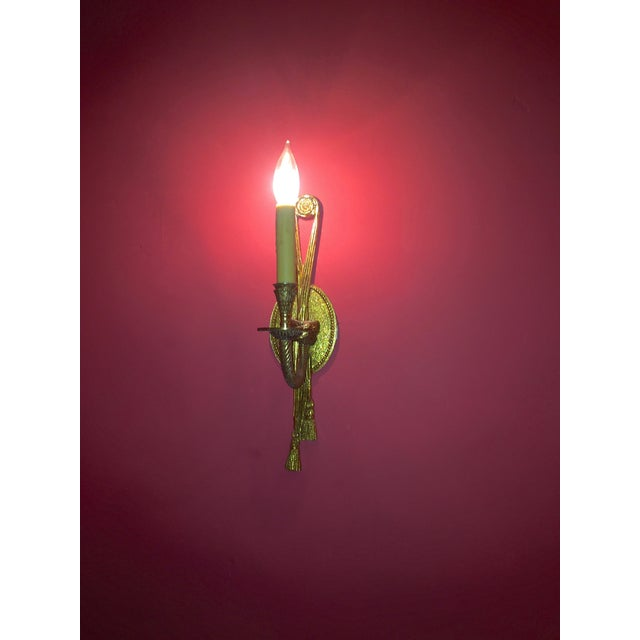 Image of Rope & Tassel Wall Sconces - Set of 4
