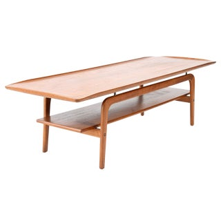 Arne Hovmand-Olsen Floating Teak Coffee Table