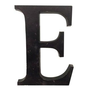 "Aluminum Letter ""E"""