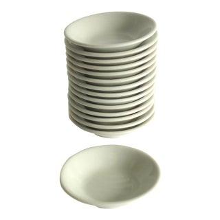 Vintage White Small Bowls - Set of 15