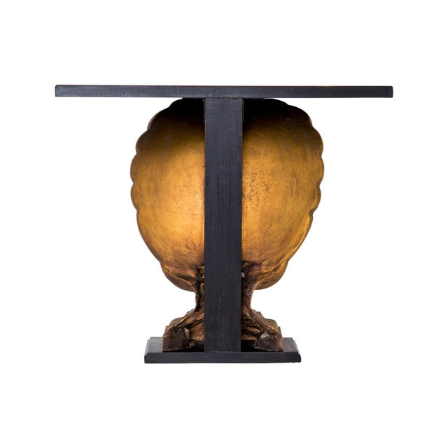 Grosfeld House Gilded Shell Console - Image 7 of 10