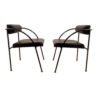 Vintage Shiro Kuramata Chairs - A Pair