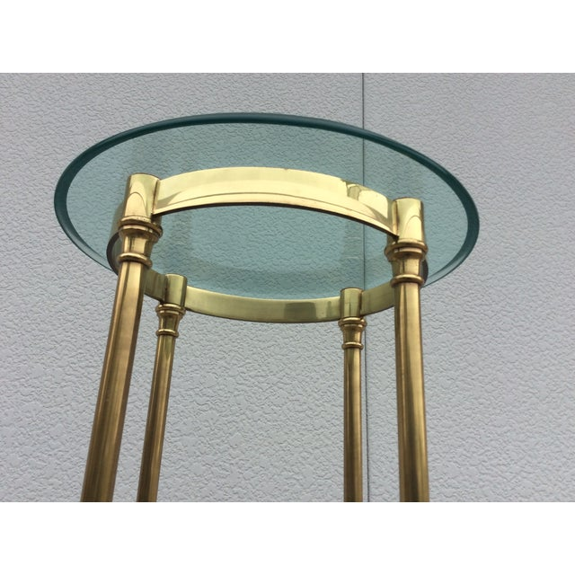 La Barge Italian Brass Pedestal - Image 8 of 11