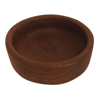 Danish Teak Wooden Candy Bowl