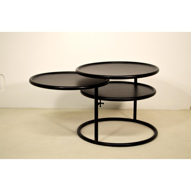Multi-Layers Noir Table - Image 2 of 5