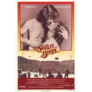 A Star is Born Film Poster, 1st Ed. 1976