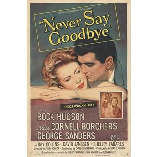 "Original ""Never Say Goodbye"" Movie Poster"