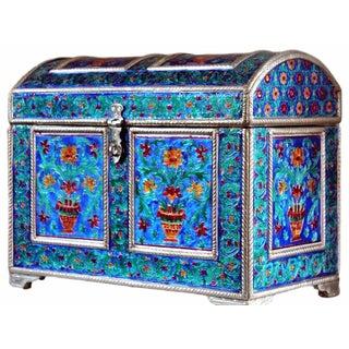 Handmade Royal Meenakari Decorated Jewelry Box