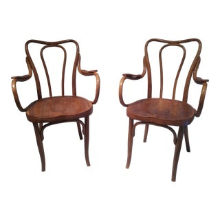 Jacob & Josef Kohn Cafe Chairs - A Pair