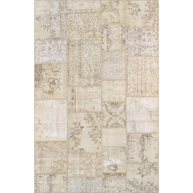 """Pasargad Patchwork Collection Rug- 5' 1"""" X 8' - Image 1 of 3"""