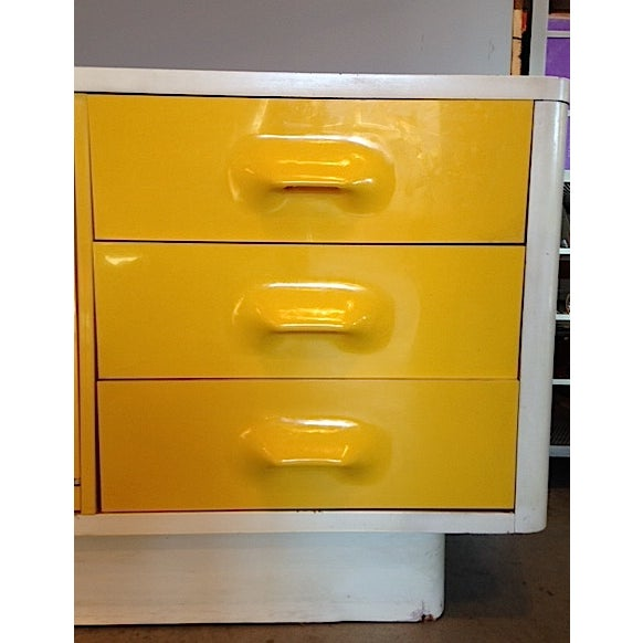 Yellow Broyhill Dresser/ Credenza - Image 3 of 11