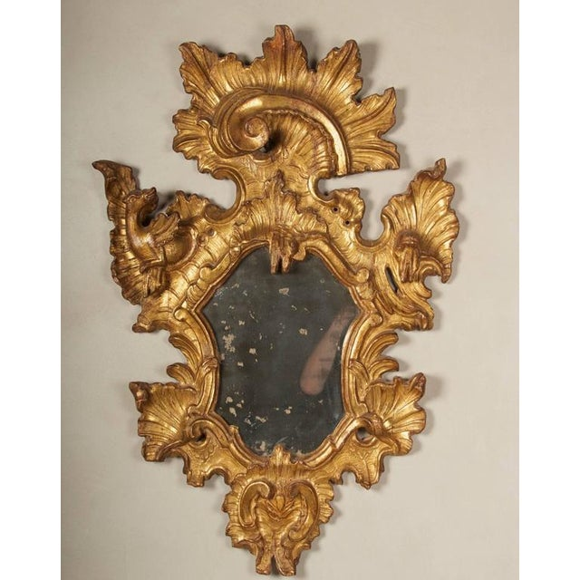 18th Century Rococo Giltwood Mirrors - A Pair - Image 3 of 9