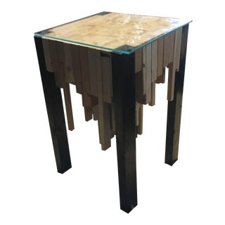Custom City Line Inspired Table