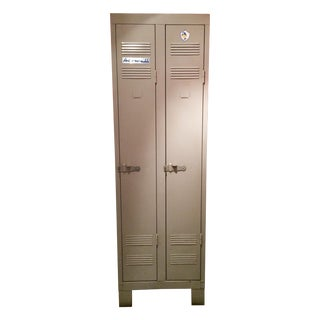 French Vintage Two Door Locker