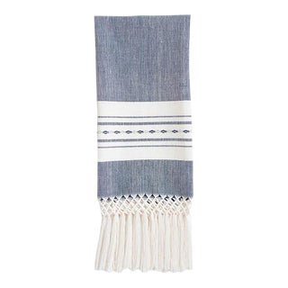 Navy Madre Hand Towel