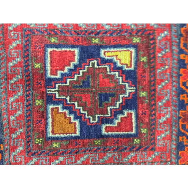 """Vintage Red Persian Rug - 1'11"""" x 2'4"""" - Image 5 of 9"""