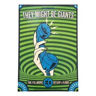"""They Might Be Giants"" Music Print"