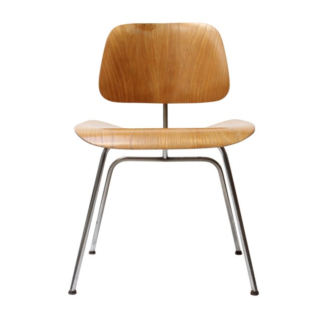 eames dcm chair by herman miller chairish