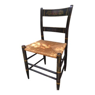 Hand Painted Antique Chair